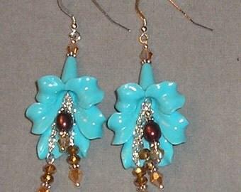 Bold Flower Earrings