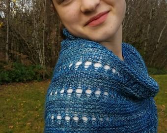 Pacifica Shawl | PDF knitting pattern