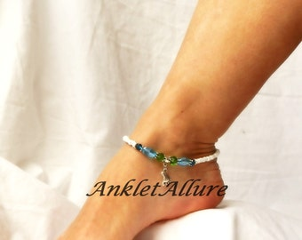 Beach Anklet Feet Ankle Bracelet Cruise Vacation Body Jewelry Resort Foot Jewelry