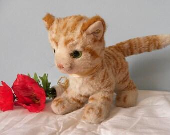 Steiff Cat Lizzy - Steiff Ginger Tabby