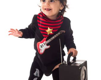 ROCKSTAR Baby costume cool costume comfortable rock star costumes for babies
