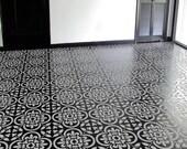 NEW - Moroccan STENCIL -  Tile Pattern no. 4 - Reusable, Easy Wall Decor, DIY Home
