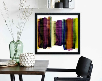 mid century modern, modern mid century, contemporary art print, modern art print, colorful wall art, midcentury art, scandinavian design