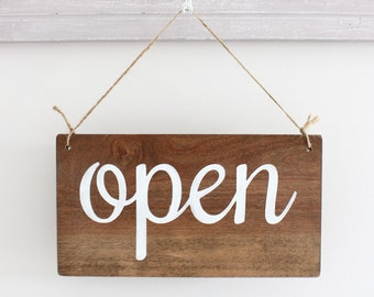 Business Sign, Open Sign, Closed Sign, Custom Sign, Store Sign, Office Sign, Wall Art, Wood Sign