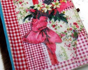Blank  altered composition Book -  Junk Journal - Scrap journal - Diary - Art journal - notebook