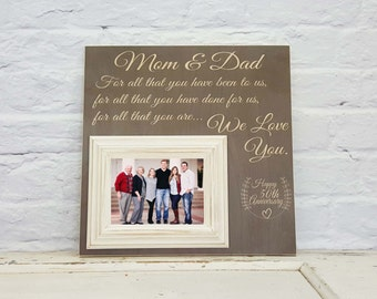 50th anniversary gifts for parents gold anniversary gift 50th wedding anniversary gift anniversary