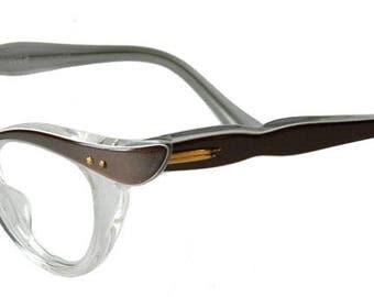 Vintage 1950s Cat Eye Eyeglasses Never Worn