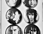 "Forever Goth Dudes 1"" Button Choose Your Own"