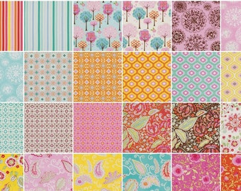 SALE 30 FQs Pretty Little Things Fat Quarter Bundle Dena Designs Out of Print Hard to Find Girl Fabrics