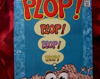 Plop Comics No 3 1974 Basil Wolverton Aragonnes Head Psych Humor Funny Twisted Underground-ish almost Comix Comic Book