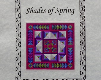 Needlepoint Pattern Chart SHADES OF SPRING From Nancy's Needle