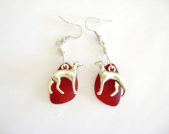 Greyhound Earrings,Sighthound Earrings, Dog Earrings, Pet Lover Earrings, Rescue Group Earrings