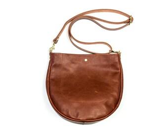 AIDY Leather Purse. Leather Cross Body Purse. Leather Crossbody Bag