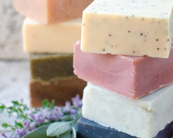 Mix & Match (Any 10 Bars of Soap and get FREE shipping)