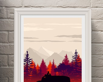 Into the Wild Movie Poster - Movie Poster, Movie Print, Film Poster, Film Print