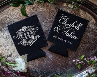 Neoprene, Monogram, Personalized Favors, Wedding Monogram, Custom Monogram, Weddings, Neoprene, Party Favor, Personalized Party Favors, 1663
