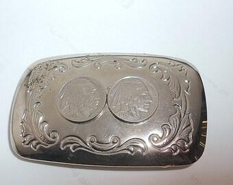 Vintage Made in USA Belt Buckle
