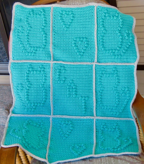 Cat Lovers Blanket Pattern - 4 Patterns in one