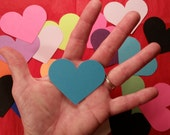 """Hearts, Large ~ 2.5"""" Heart Cut-outs, Confetti, Valentine, Wedding, Party Confetti, Flower Girl Toss, Craft Supply"""
