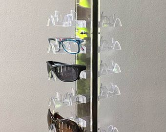 Sunglasses Display Rack /Store Spinner Counter Top Display with Mirror / Eyeglasses / Sunglasses Holder
