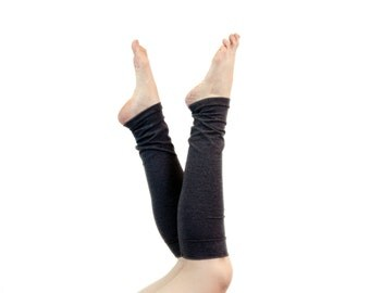 Leg Warmers For Women Boot Socks Grey Long Leg Warmers, Long LegWarmers, Knee High Socks, Womens Gift for Her Sister Gift Ballet Yoga Gifts