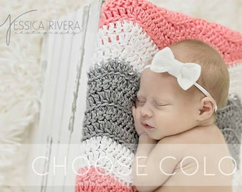 Baby Headband, Baby Bows, Newborn Headband, Baby Girl Headband, Newborn Girl Headband, Headbands, Bows,  White Headband, Newborn Baby