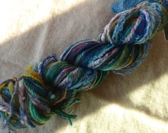 Hope Jacare - Creative textiles Fab felting hand dyed and hand spun wool yarns - 85g - FFY25