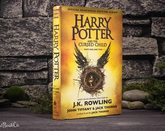 Hollow Book Safe - Harry Potter and The Cursed Child - Parts 1 and 2 - J.K. Rowling