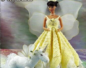 Fantasy Angel Fashion Doll Crochet Pattern Annie's Attic 870717