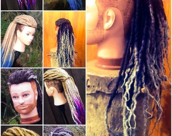 aYa Commissioned Order Dreadhawk Wig 60 single ended Dreads