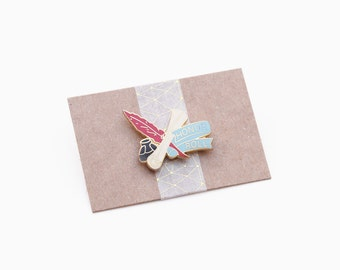 Honor Roll Enamel Pin - Vintage Pin - Graduation Gift