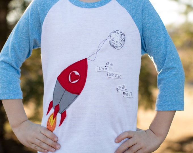 Swanky Shank Boys or Girls Rocket Tee