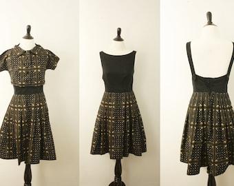 1960s dress | vintage 60s day dress