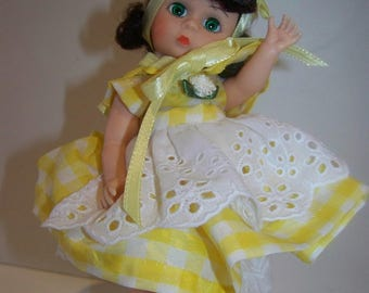 Sunshine a Maureen and Madame Alexander 8 in doll