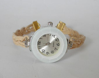 Braided watch