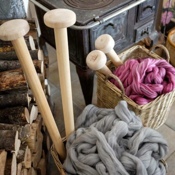 Giant Knitting Needles And Wool Uk : Mm us for giant yarn long knitting needles