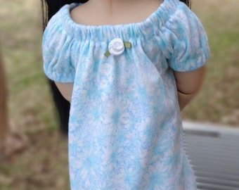 """16"""" Doll Clothes Floral Nightgown Fits A Girl For All Time Dolls"""