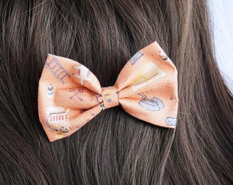 Grand Budapest Wes Anderson Hair Bow