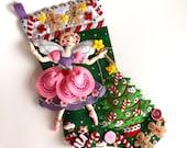 Reserved for Amfilippi Bucilla Sugar Plum Fairy Santa's Mail Bag