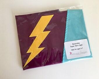 Embroidered Super Hero Cape -- Kids Dress Up