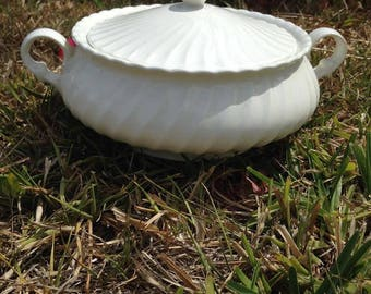 Vegetable Bowl with Lid by Sheffield