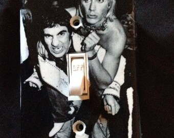 Keith Moon & Iggy Pop Light Switch Plate