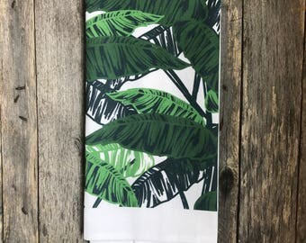 Palm Branch Tea Towel (Design 3)