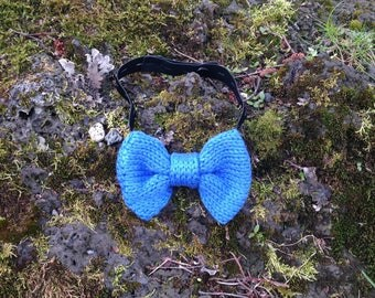 Knitted Bow Tie - Made with Merino Wool