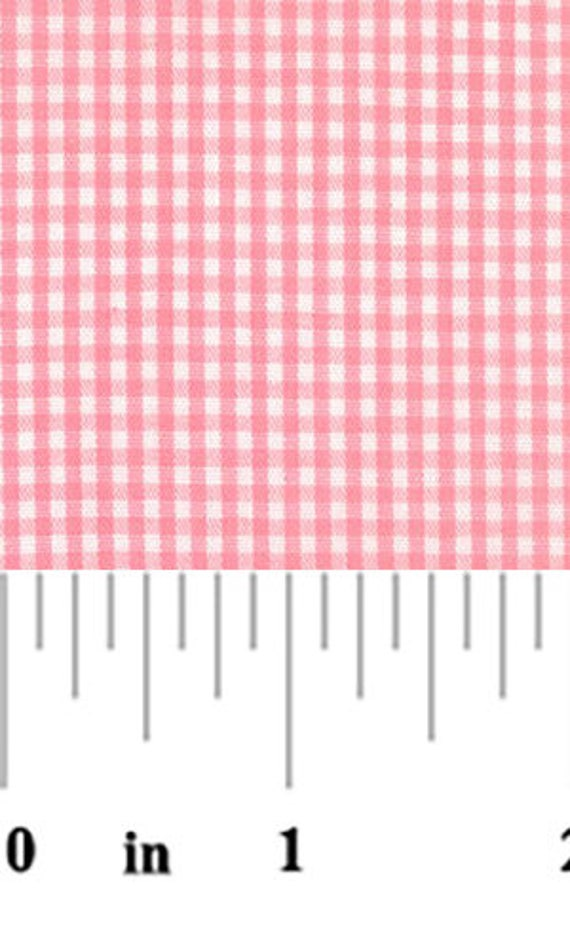 High Quality Fabric Finders Pink Gingham