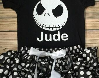 Nightmare Before Christmas/ Jack Skellington costume/First Halloween/Baby Jack/Baby Halloween /Pageant