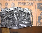 Siskiyou Buckle Co Limited Edition Pewter Buckle Great Mountain Men James Pierson Beckwourth 1989