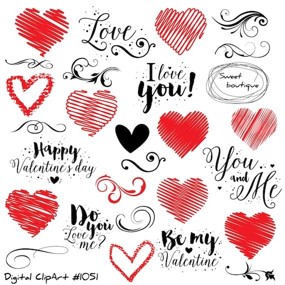 Love Clip Art, Love Quote, Valentines Day Clipart, Quotes Love, Printable  Love Quotes, Valentines Clipart, Heart Clipart,Love Clip Art 1051 From ...