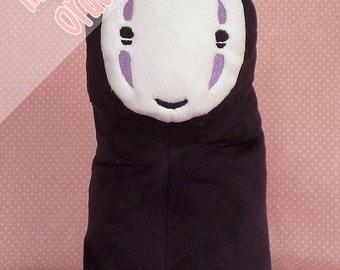 MADE TO ORDER Spirited Away: No-Face (Kaonashi) Custom Art Plush