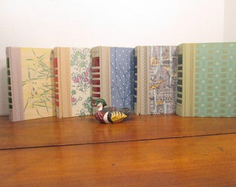 Decorative Book Stack, 1950's Book Covers, Vintage Readers Digest Book